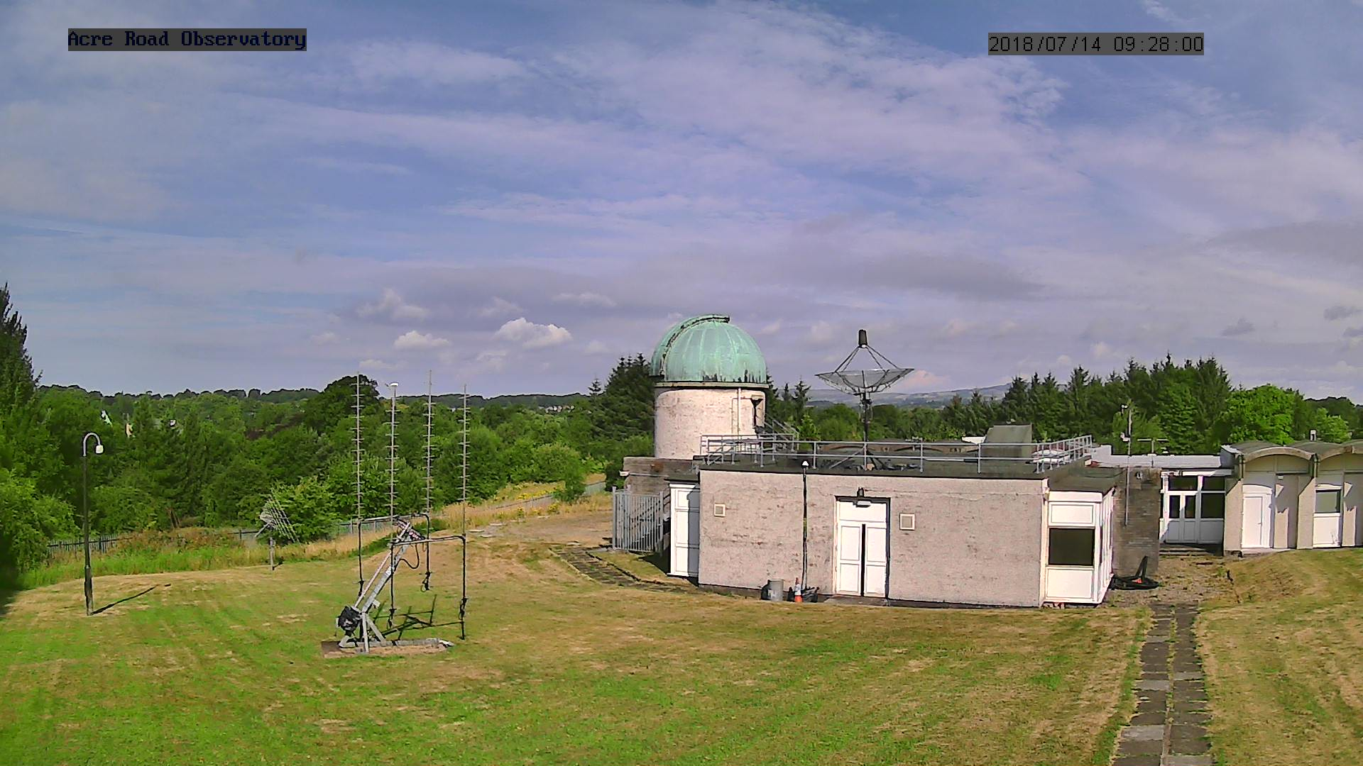Glasgow Observatory, Scotland - Webcam Image