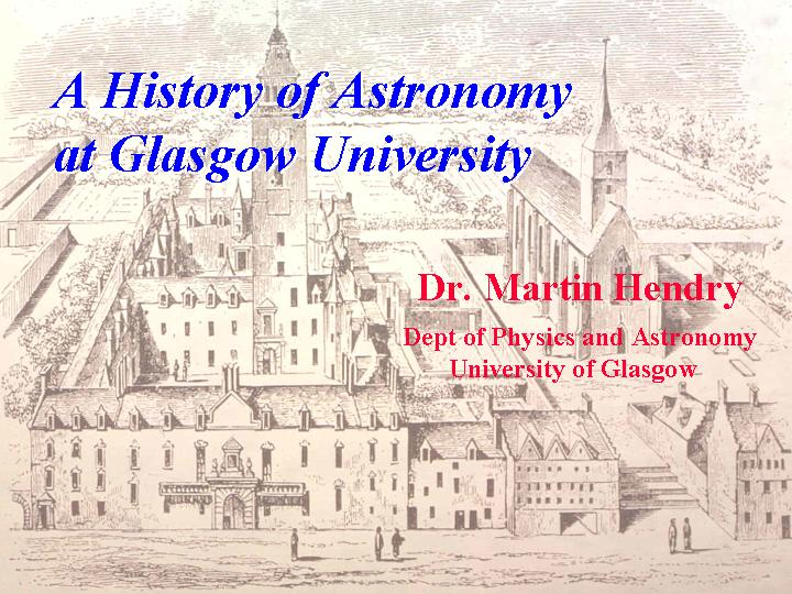 Popular Astronomy Lectures