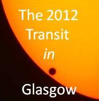 See the 2012 Transit of Venus in Glasgow