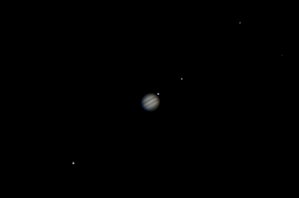 Jupiter & 4 Moons