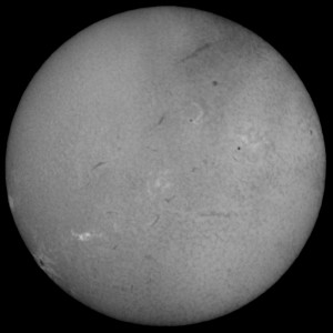 H-alpha Sun