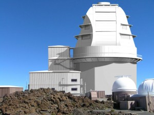 Rendering of DKIST dome. Image: NSO/NSF/AURA